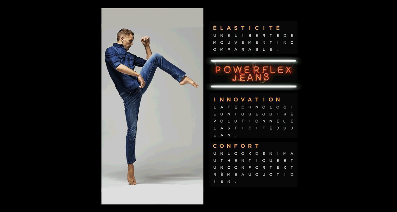 Jean Power Flex Celio - galerie