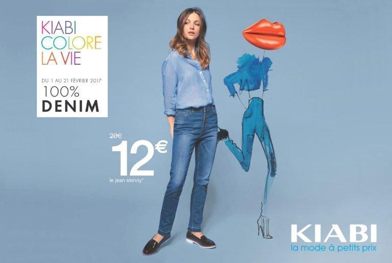 100% Denim Femme - promotion-kiabi-bouffere - fevrier 2017 - Centre Commercial Pays de Montaigu