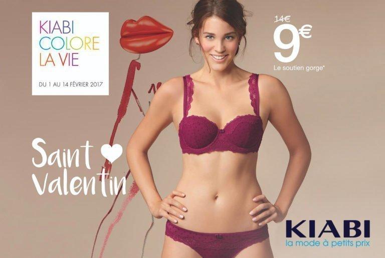 Saint Valentin - promotion-kiabi-bouffere - fevrier 2017 - Centre Commercial Pays de Montaigu
