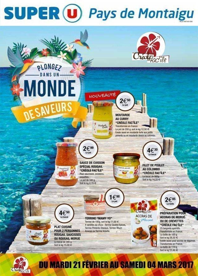 Super U Boufféré la semaine créole 1 - Pays de Montaigu