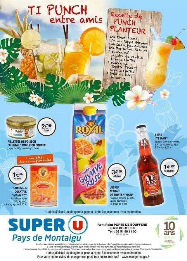 Super U Boufféré la semaine créole 4 - Pays de Montaigu