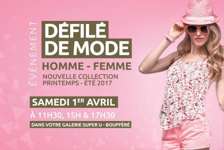 Défilé de mode Homme Femme organisé par le centre commercial Pays de Montaigu
