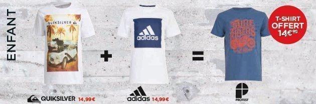 promos t-shirts-enfant - Go Sport