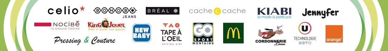 logos partenaires chéquier - Pays de Montaigu
