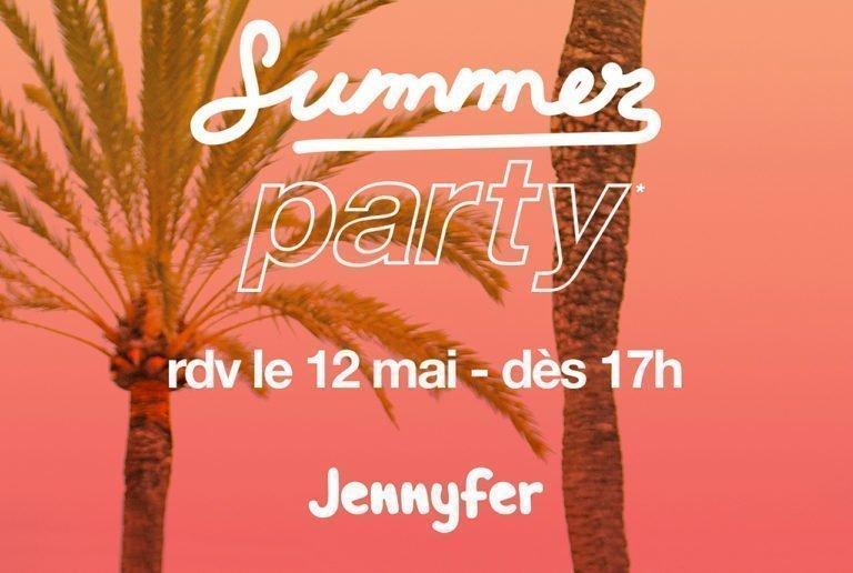 Soirée summer party chez Jennyfer - Pays de Montaigu