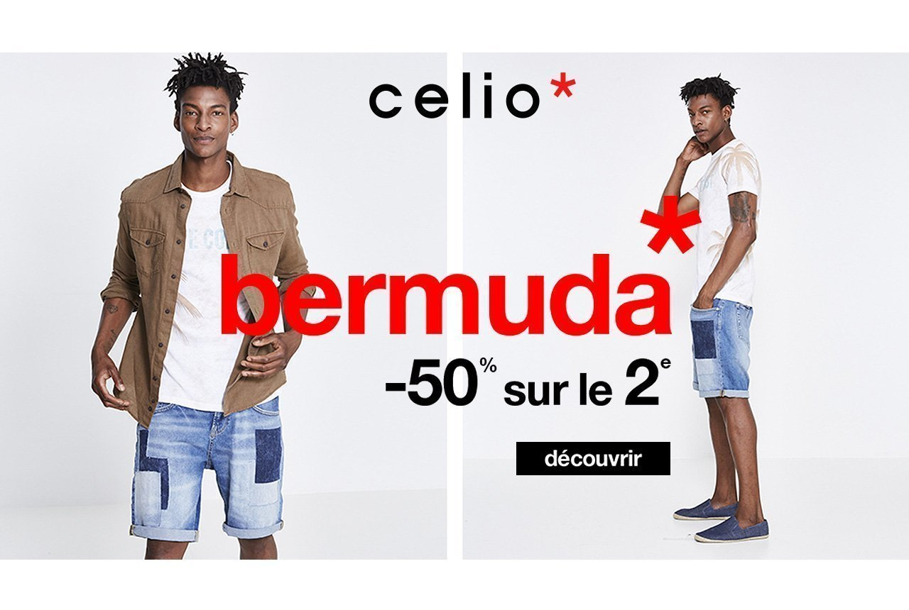 bermudas homme shorts celio montaigu bouff r pays de montaigu. Black Bedroom Furniture Sets. Home Design Ideas
