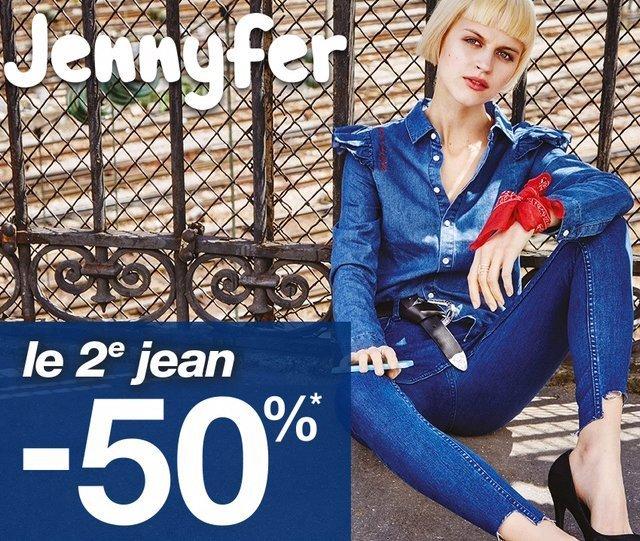 promotion sur les jeans chez Jennyfer