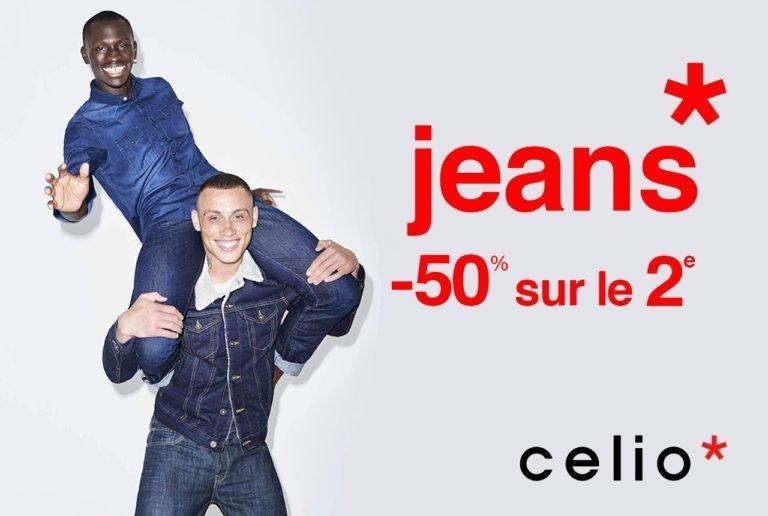promotion Celio sur les jeans homme