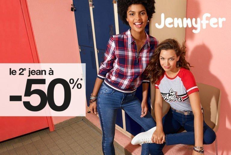 2ème jean à -50%