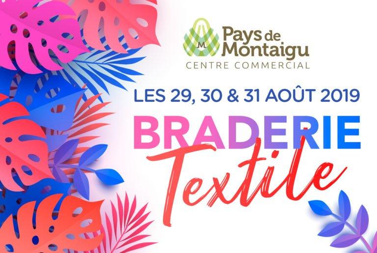 braderie textile Pays de Montaigu